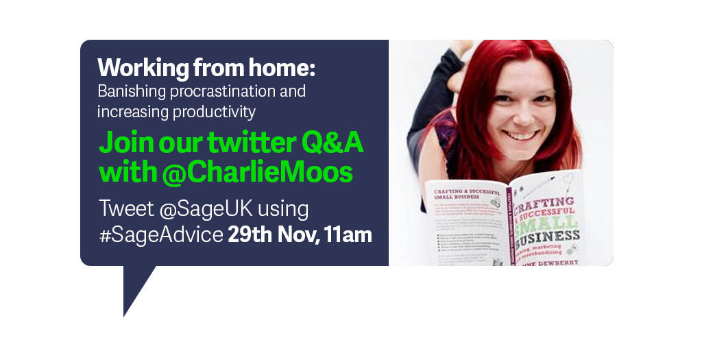 Q&A Sage | working from home