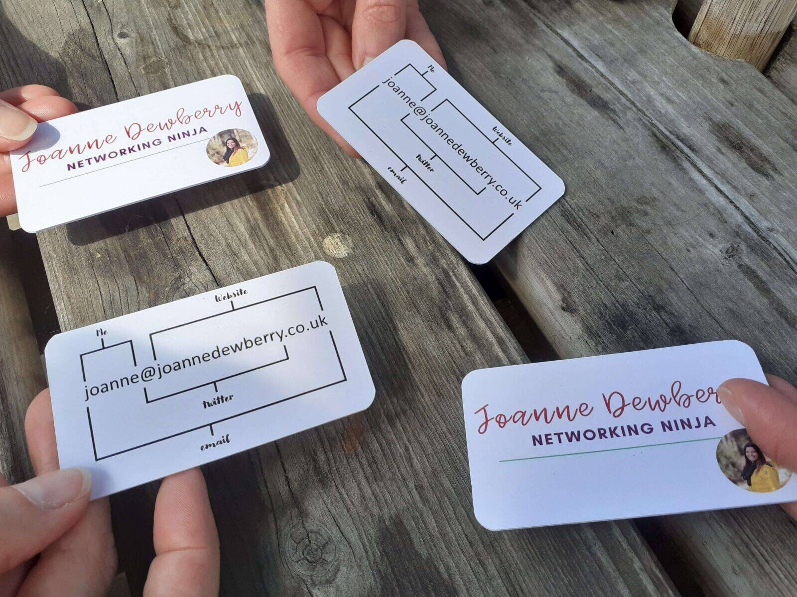business cards small business networking