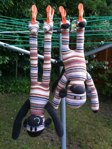 sock monkeys being tested for ce marking