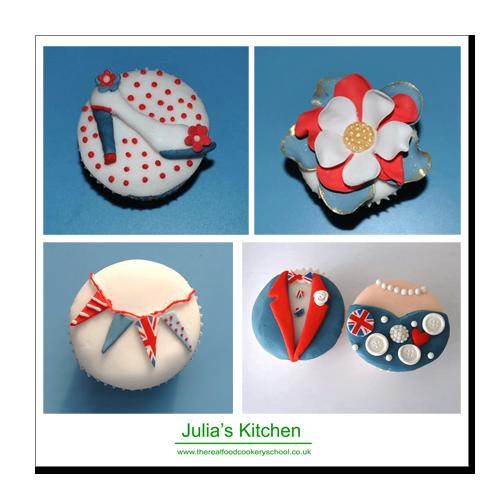 Jubilee Inspired cupcakes
