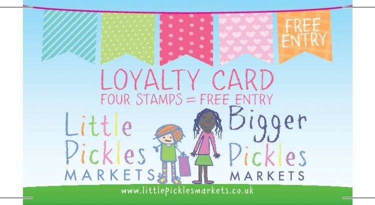 Little pickles loyalty cards