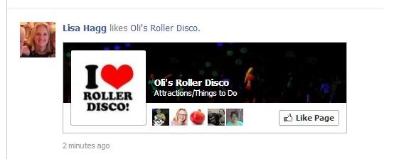 Oli's Roller Disco Facebook