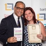 Theo Paphitis and Joanne Dewberry