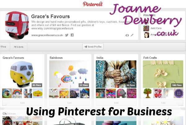 Grace's Favours on Pinterest