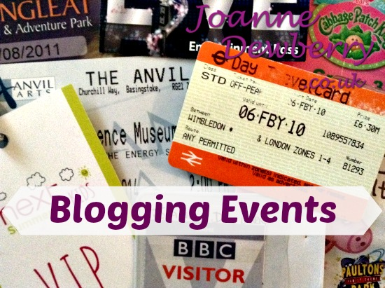 blogging events