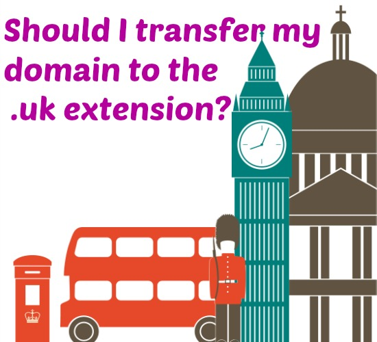 .uk domain change should we?