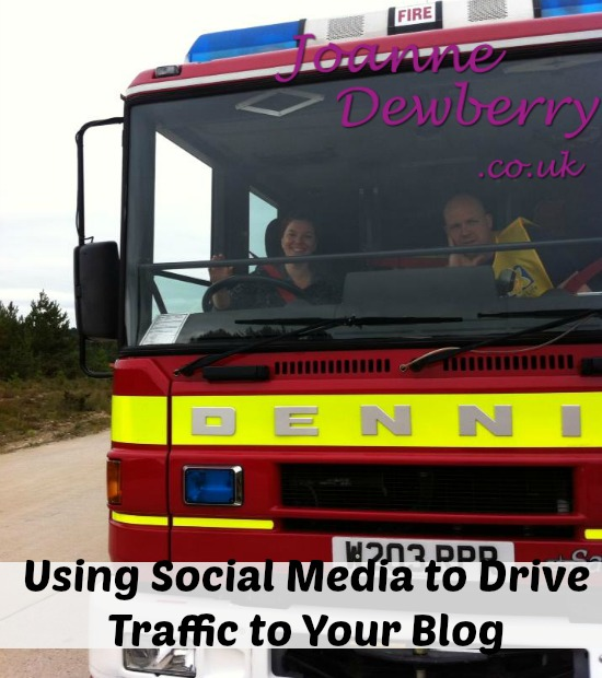 using social media to drive traffic