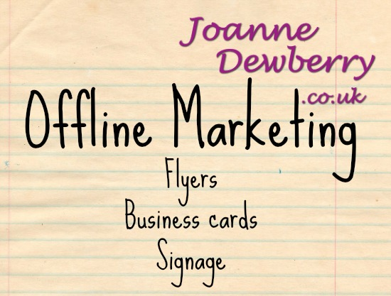 offline marketing joanne dewberry