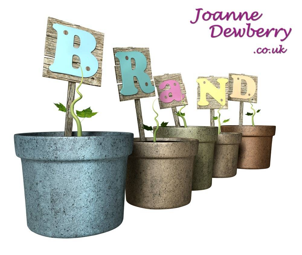 branding tips Joanne Dewberry