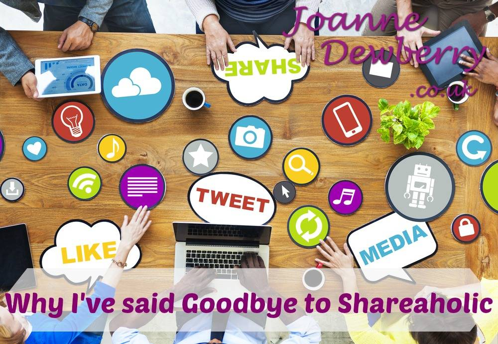 blog saying goodbye to shareaholic