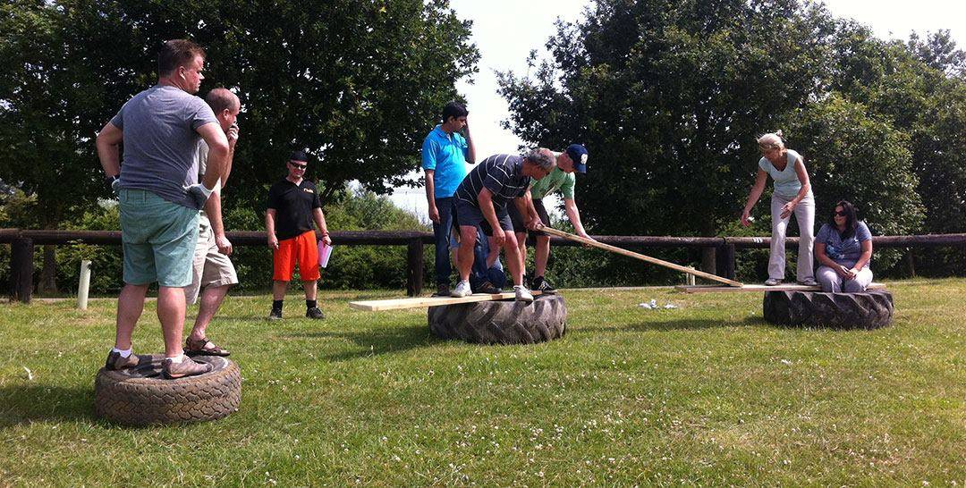 Wyboston Lakes team building