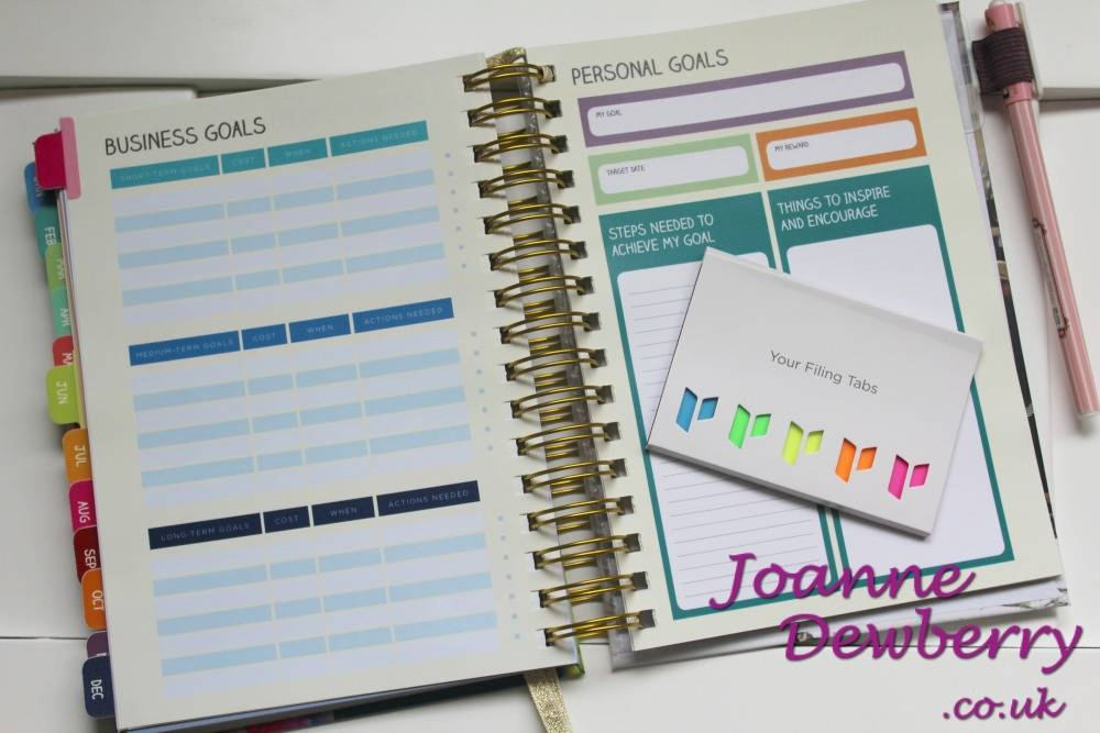 business goals unique planner