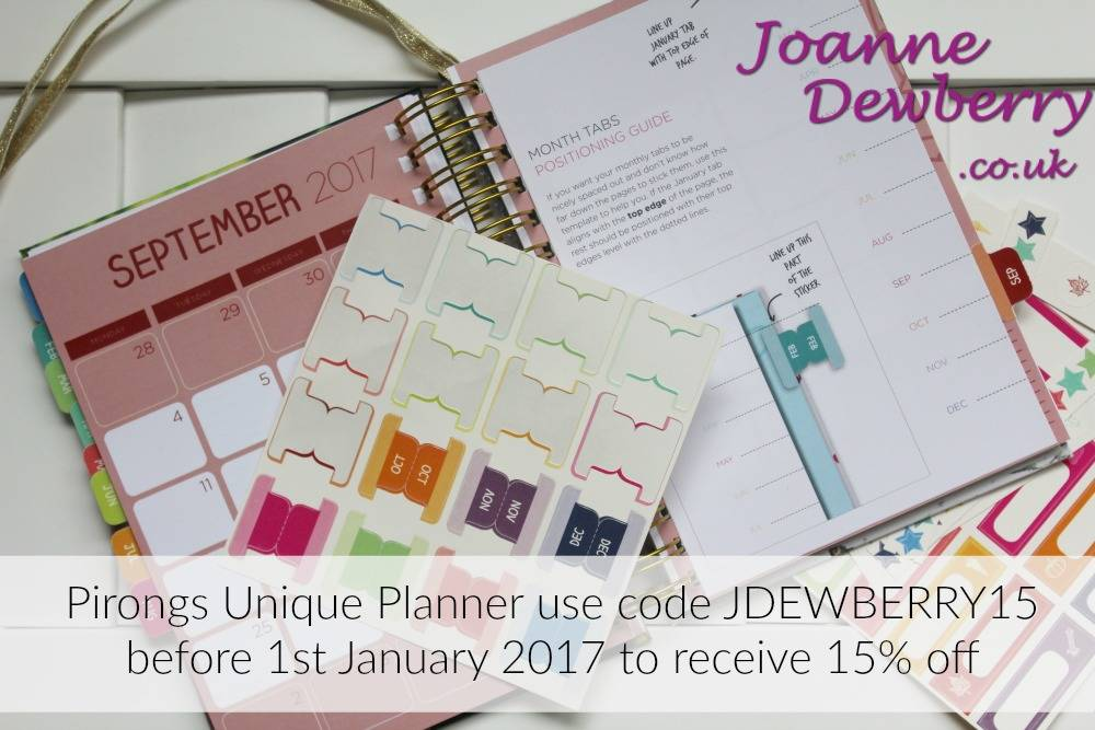 pirongs unique planner