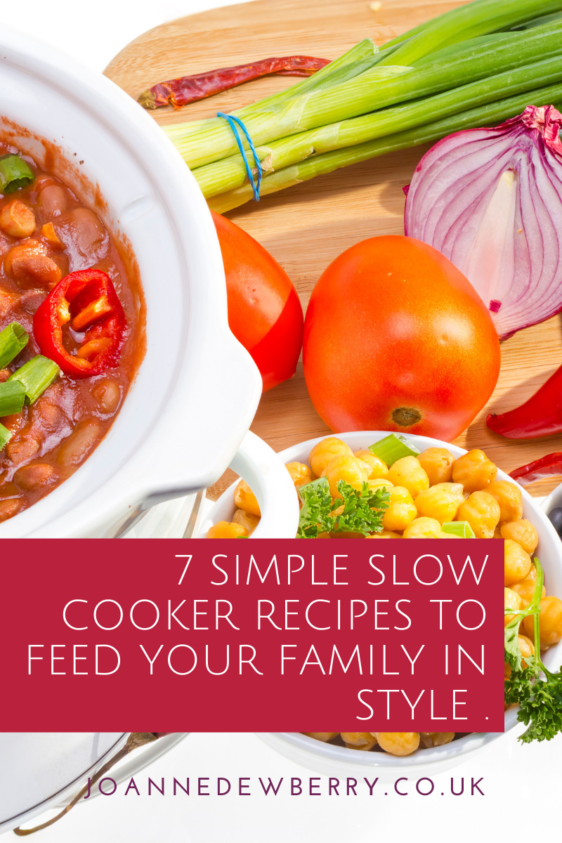 7 simple slow cooker recipes to feed your family in style