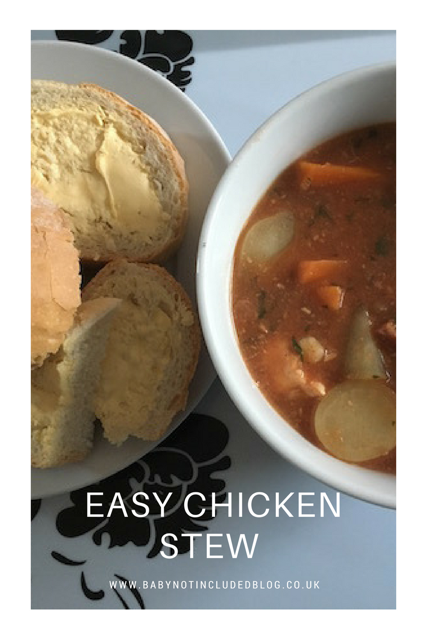 easy chicken stew