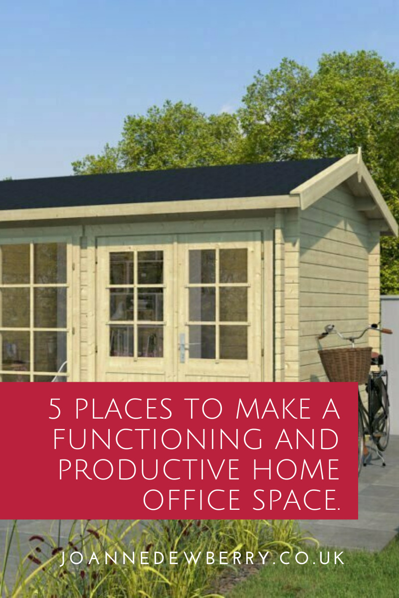 5 Places To Make A Functioning and Productive Home Office Space