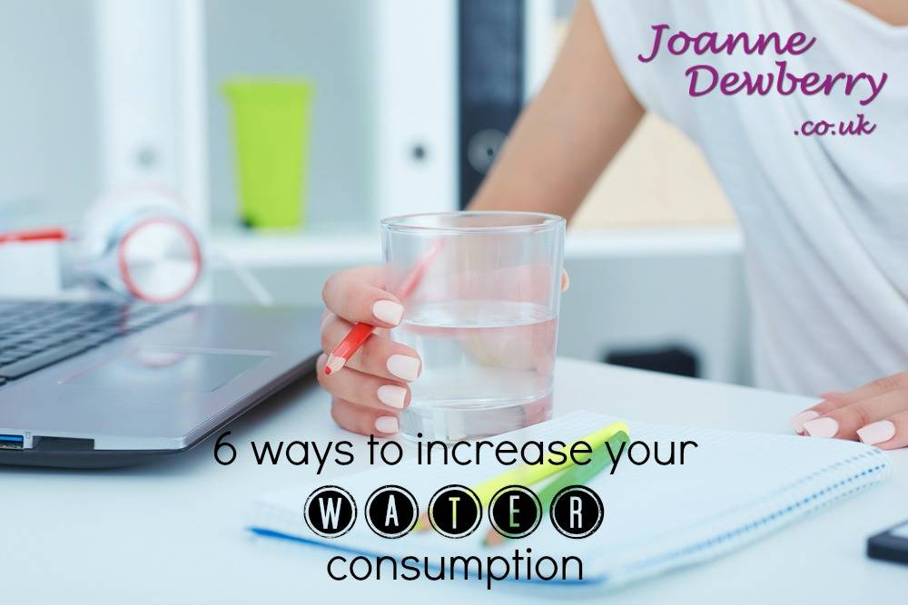 increase water consumption