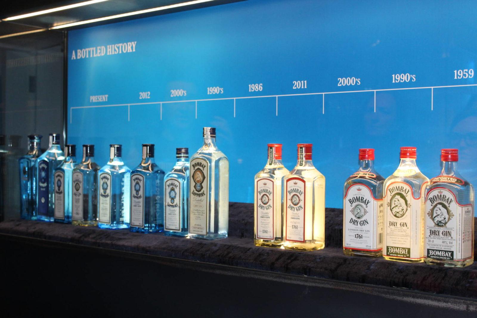 branding gin bottles