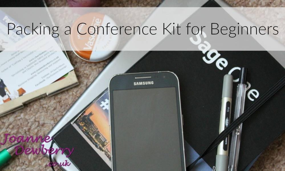 Packing a Conference Kit for Beginners