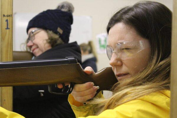 #40before40 rifle shooting