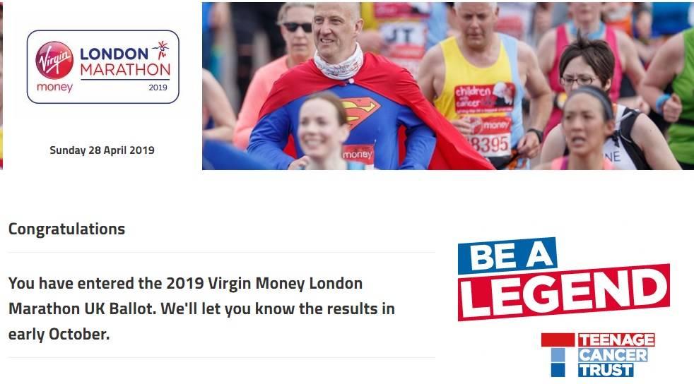 london marathon #40before40