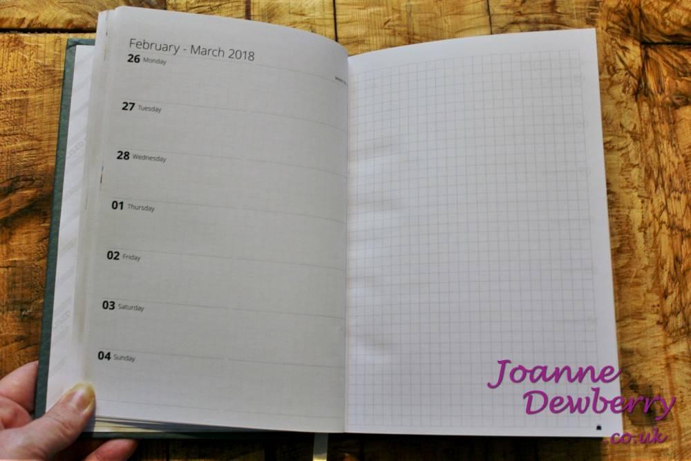 toad diary layout