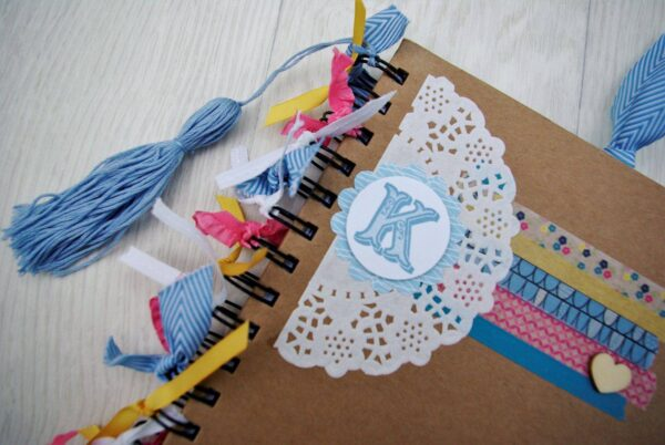 notebook decorating small business socials