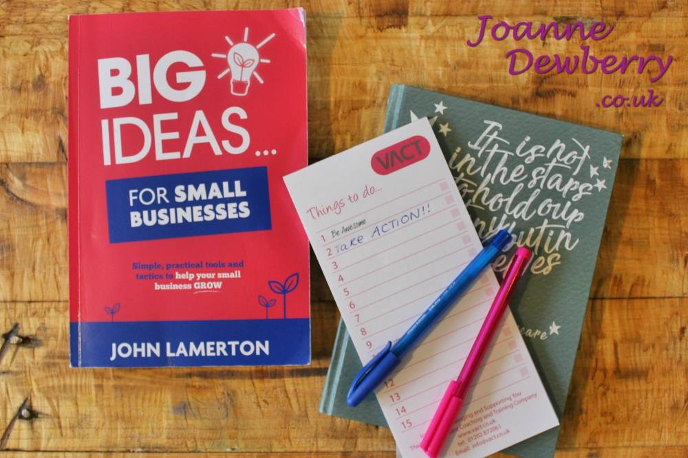 Big Ideas for Small Business | Book Review