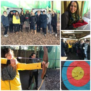 Archery networking team building lemur linkup