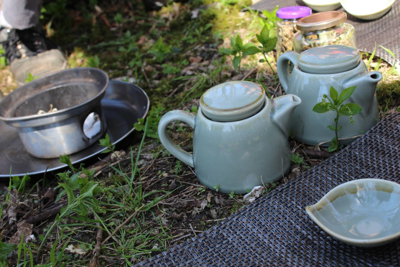 Japanese foraged Tea ceremony