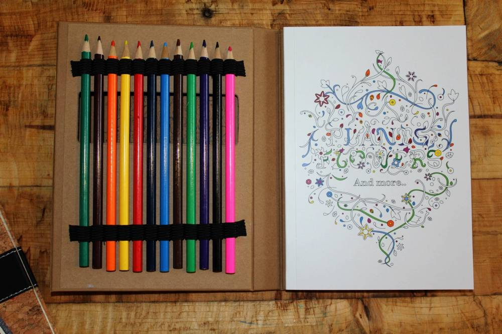 adult colouring set printkick