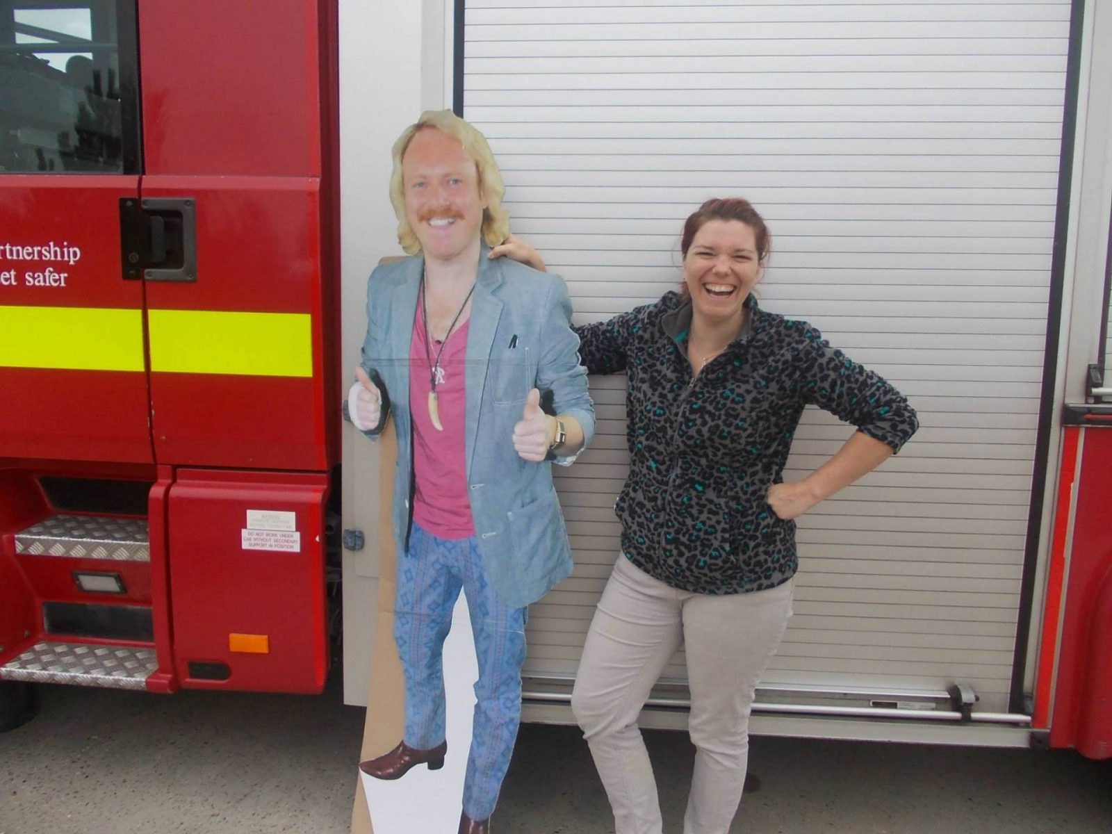 Keith Lemon and Joanne dewberry