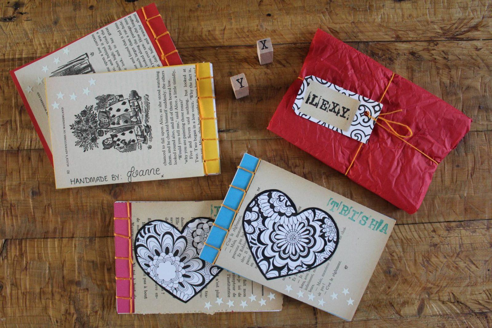 Handmade notebooks Viking World Book Day