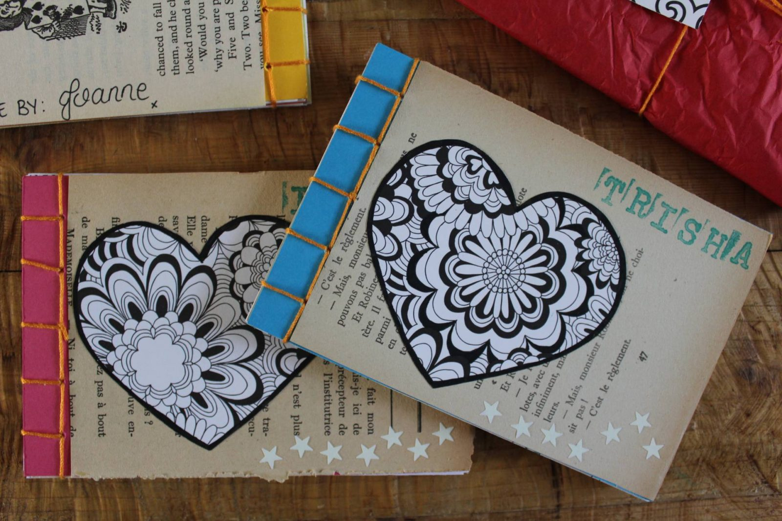 Turning Old Books into Japanese Notebooks