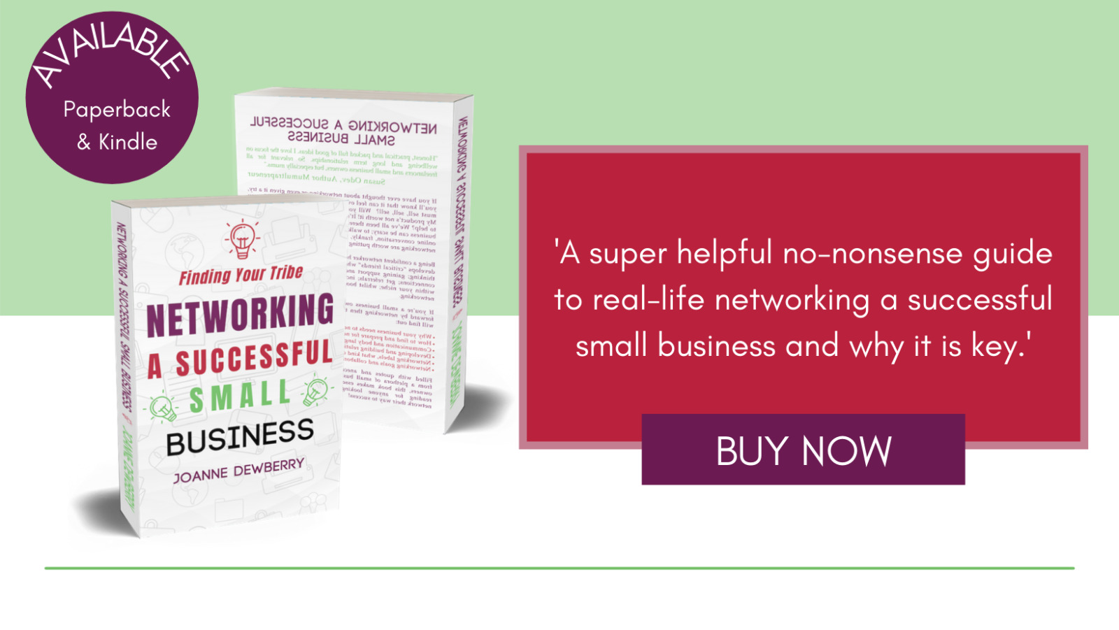 Networking A Successful Small Business Banner