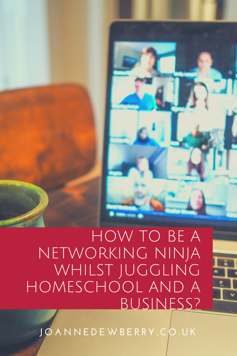 how to be a networking ninja and homeschool