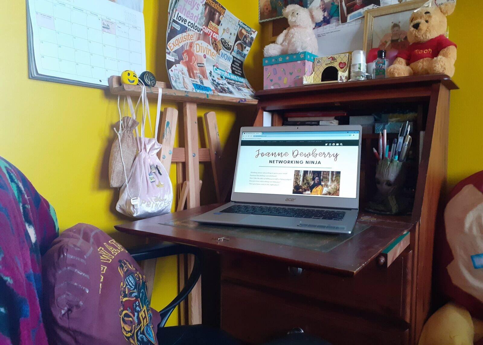 bureau home office space