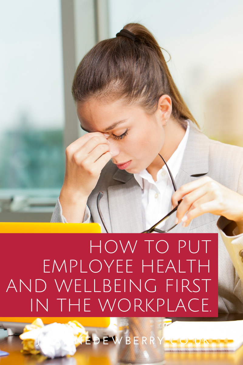 Healthy and I Know It: How To Put Employee Health and Wellbeing First in the Workplace