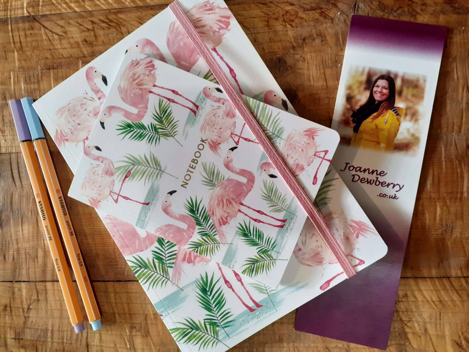 Nichola Cards Flamingo Notebooks