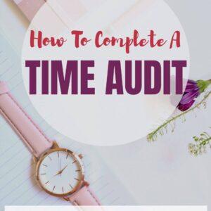 Time Audit