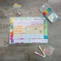 Summer Holiday Planner Made By Me Craft Parties