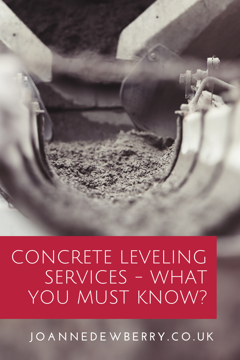 Concrete Leveling Services - What You Must Know?