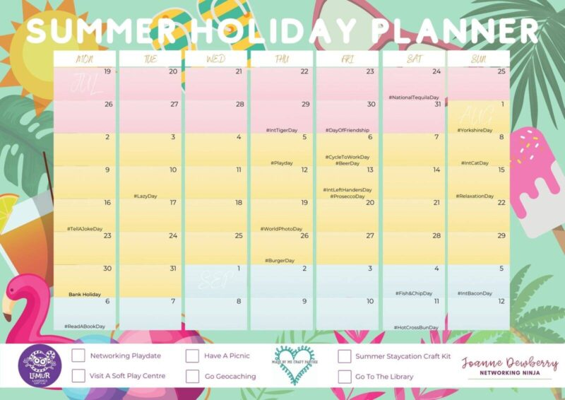A Working Parents Summer Holiday Planner 2021 (+ FREE Download)