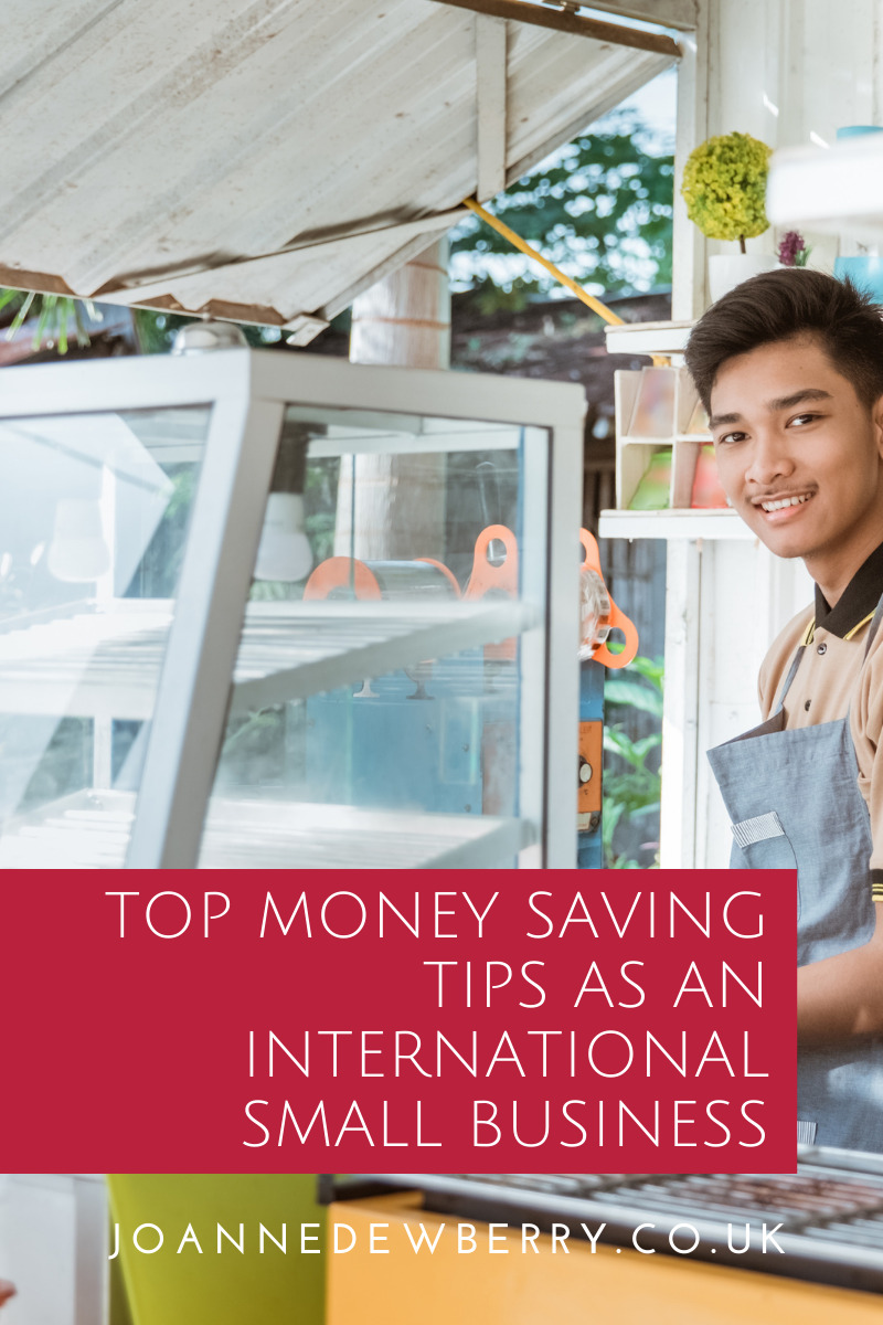 Top Money Saving Tips as an International Small Business