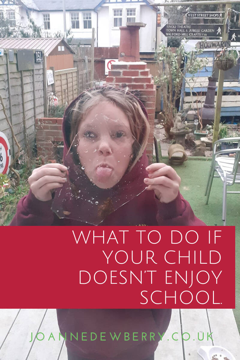 What To Do If Your Child Doesn't Enjoy School