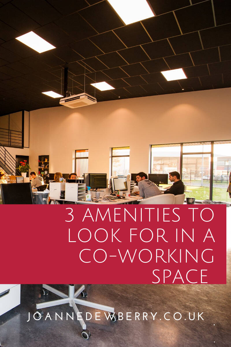3 Amenities To Look For In A Co-working Space