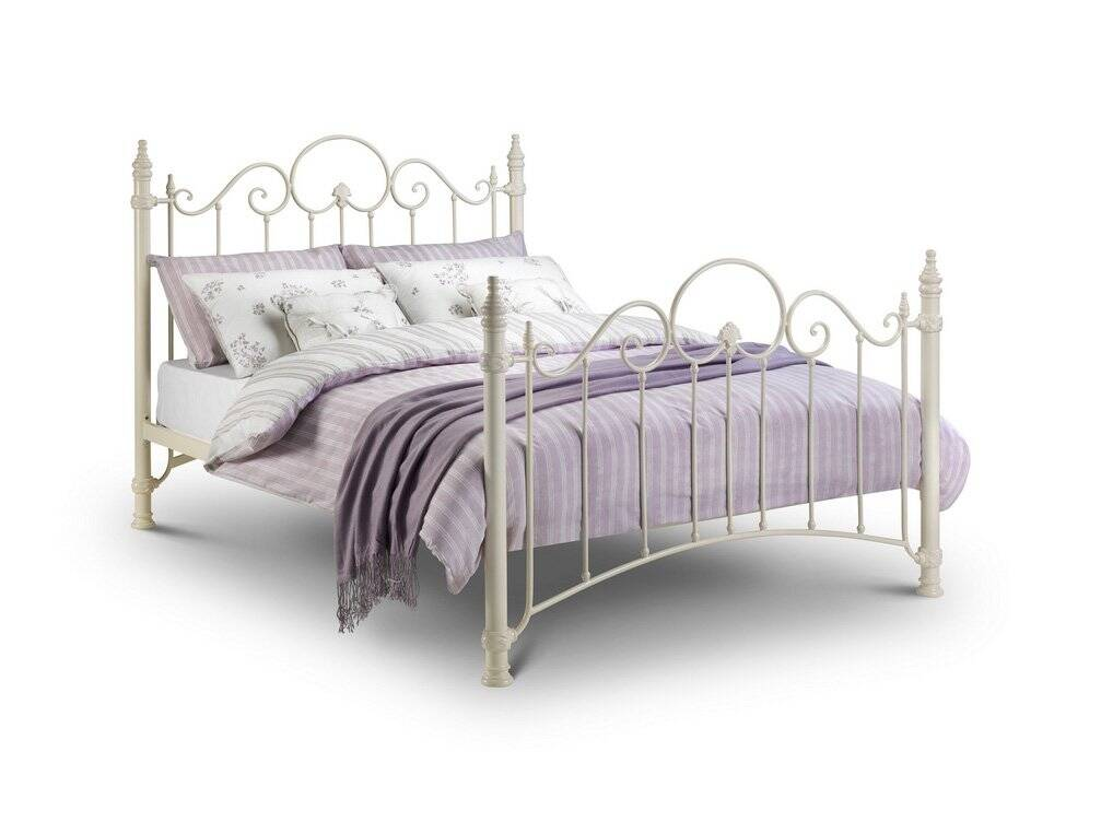Julian Bowen Florence 4FT 6 Double Metal Bed Frame, Available from Bedstar The Online Bed